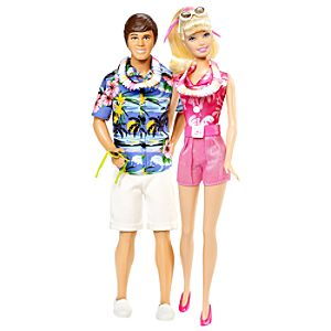 Toy Story Hawaiian Vacation Ken & Barbie Doll Set -- 2-Pc.