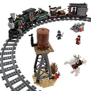 The Lone Ranger Constitution Train Chase Play Set by Lego