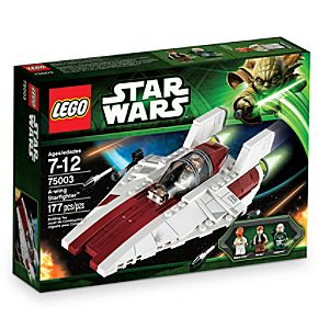 Star Wars A-Wing Starfighter LEGO Set