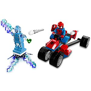 Ultimate Spider-Man Spider-Trike vs. Electro Play Set by Lego