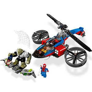 Ultimate Spider-Man Spider-Helicopter Rescue Play Set by Lego