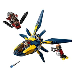 Guardians of the Galaxy Starblaster Showdown LEGO Set