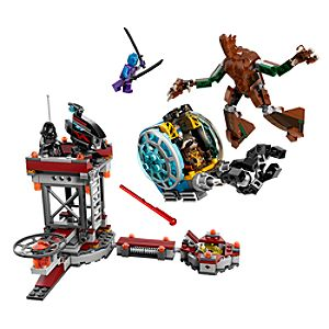 Guardians of the Galaxy Knowhere Escape Mission LEGO Set