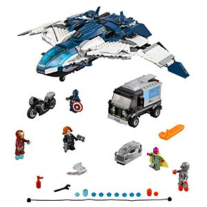 The Avengers Quinjet City Chase Playset by Lego - Marvels Avengers: Age of Ultron