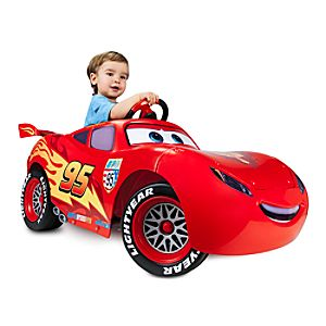 Lightning McQueen Ride On Vehicle