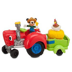 Mickeys Tractor Mickey Mouse Play Set