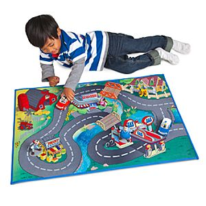 Mickey & Donald Play Mat & Vehicles Play Set -- 3-Pc.