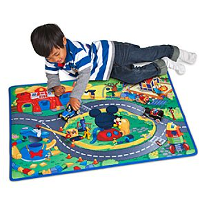 Mickey & Donald Play Mat & Vehicles Play Set