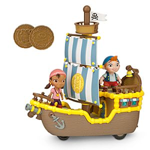 Jake and the Never Land Pirates Bucky, Izzy, and Cubby Play Set