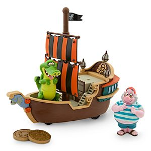 Mr. Smee and Tick-Tock Jolly Roger Play Set