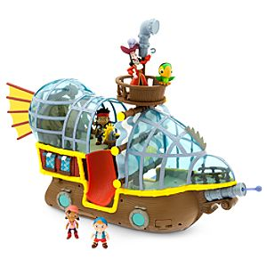 Jake and the Never Land Pirates Deluxe Bucky Pirate Ship Play Set