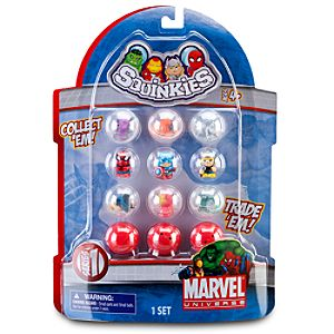 Marvel Universe Squinkies Set -- Series 1