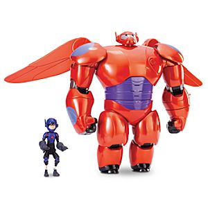 Baymax Mech Deluxe Flying Action Figure - Big Hero 6