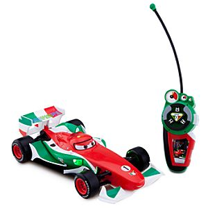 Cars 2 Francesco Bernoulli Remote Control Vehicle