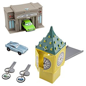 Cars 2 Key Charger London Play Set