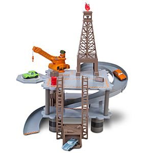 Cars 2 Oil Rig Keycharger Play Set