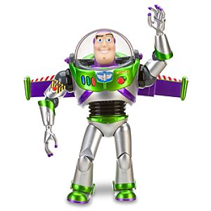 D23 Exclusive 25th Anniversary Silver Edition Buzz Lightyear Action Figure -- 12 H