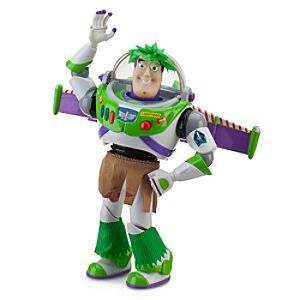 Hawaiian Vacation Talking Buzz Lightyear Action Figure -- 12 H
