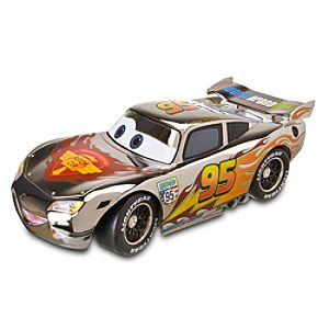 D23 Exclusive Silver Edition Lightning McQueen Die Cast Vehicle - 10
