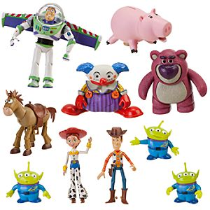 Deluxe Toy Story Action Figure Set -- 10-Pc.