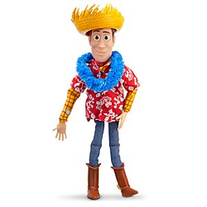 Hawaiian Vacation Talking Woody Action Figure -- 16 H