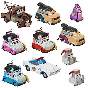 Travelin' Through Tokyo Cars 2 Die Cast Set -- 10-Pc.