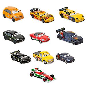 Cars 2 World Grand Prix Racer and Crew Chief Die Cast Set Featuring Francesco -- 10-Pc.