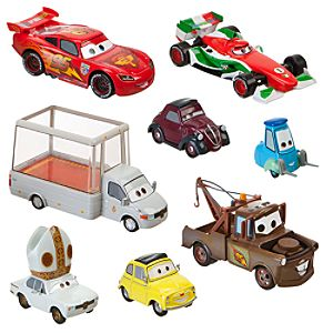Holy Moly Cars 2 Die Cast Set -- 8-Pc.