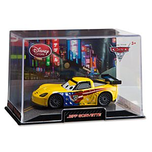Jeff Gorvette Cars 2 Die Cast Car