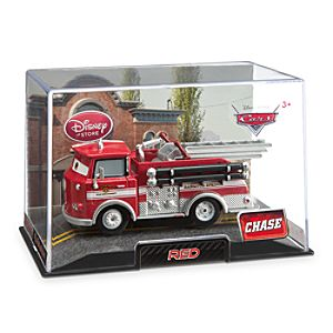 Red Die Cast Fire Engine - Chase Edition