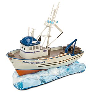 Cars 2 Crabby Die Cast Boat