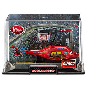 Team McQueen Cars 2 Die Cast Helicopter -- Chase Edition