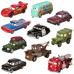 Cars 2 Die-Cast Set - Radiator Springs to the Rescue