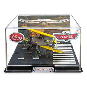 Lead Bottom Die Cast Plane - Planes