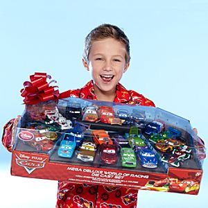 Cars World of Racing Die Cast Set