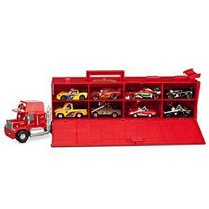 World Grand Prix Racers Die Cast Set with Mack Truck