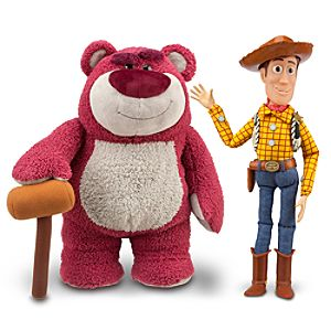 Woody and Lotso Talking Figure Set