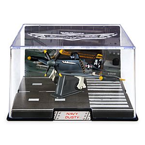 Navy Dusty Die Cast Plane - Planes