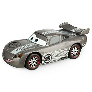Lightning McQueen Silver Hot Rod Die Cast Car - Chase Edition