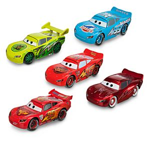 McQueen-O-Rama Die Cast Vehicle Set