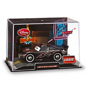 Lightning McQueen Black Die Cast Car - Chase Edition