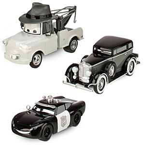 Cars Toon Mater Private Eye Die Cast Set