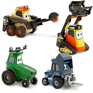 Planes: Fire & Rescue Smoke Jumper Die-Cast Set #1