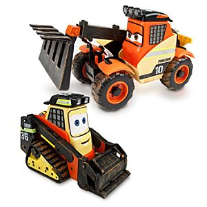 Planes: Fire & Rescue Talking Pinecone and Drip Vehicles