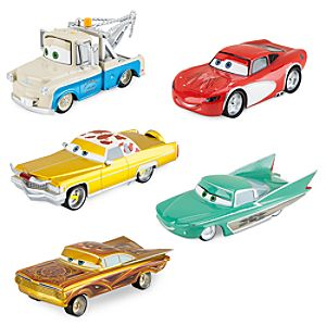Cars Deluxe Low Rider Die Cast Set