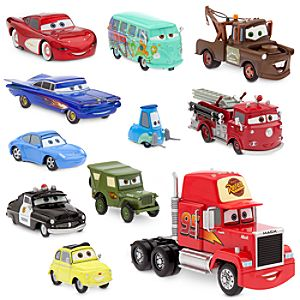 Cars Radiator Springs Deluxe Die Cast Set