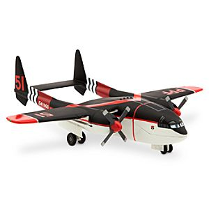Cabbie Deluxe Die Cast Plane - Planes: Fire & Rescue