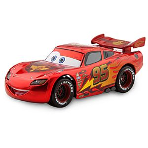 Lightning McQueen ''Red Hot'' Die Cast Car - Chase Edition