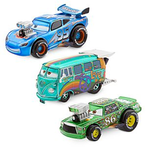 Cars Hot Roddin' Die Cast Set