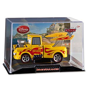 Drag Star Mater Cars 2 Die Cast Car